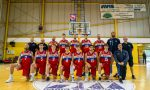 Basket C Gold weekend nero per le tre brianzole