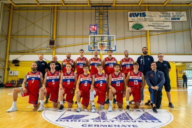 Basket C Gold Gorla Cantù vince in casa del Calolziocorte
