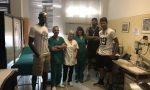 I campioni della Libertas Cantù in visita alla Asst Monza
