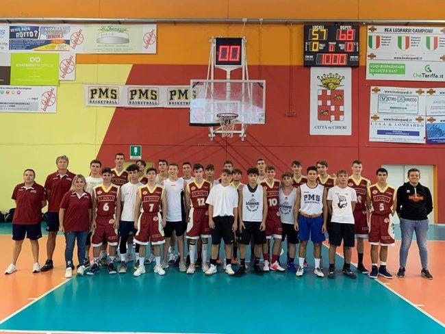 Basket Giovanile Le Bocce Erba a Chieri