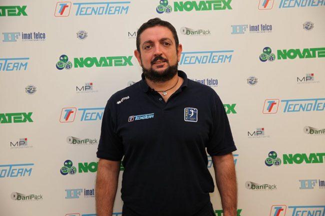 Albese Volley coach Cristiano Mucciolo