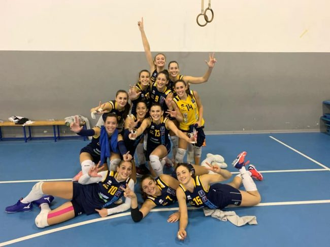 Albese Volley esordio vincente