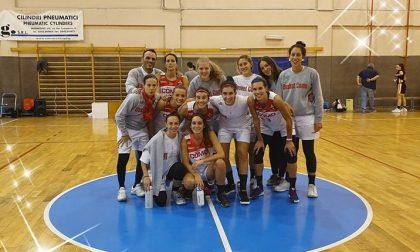Basket femminile Vertemate doma Sondrio e l'aggancia
