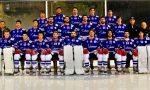 Hockey Como lariani vittoria di rigore con l'Eppan