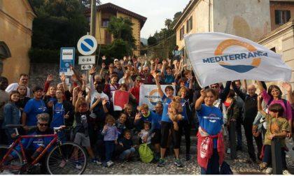 La staffetta solidale: tre giorni e centosettanta chilometri per tornare umani