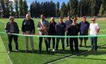 Inaugurato il nuovo campo sportivo di Olgiate Comasco VIDEO