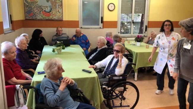 L'iniziativa Casa anziani social va in onda sulla Rai FOTO