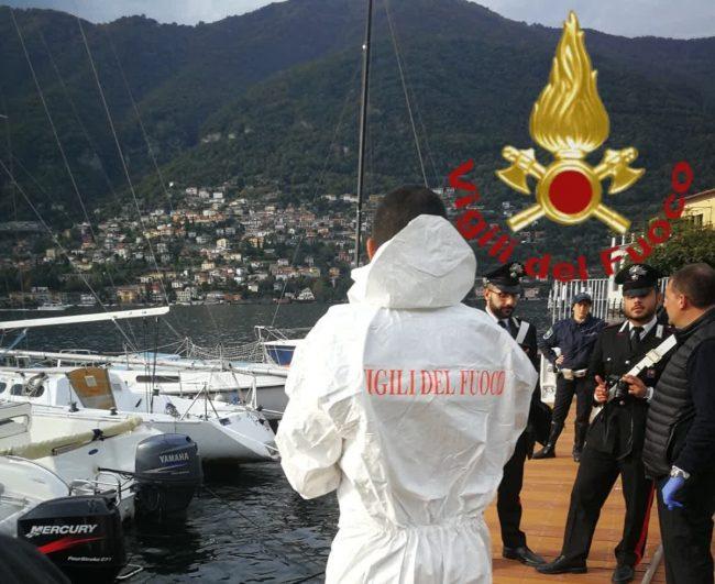 Corpo nel lago a Torno: indagano i Carabinieri