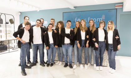 La galassia di Zara apre a Como con For&From: giovani ragazzi con disabilità al lavoro FOTO