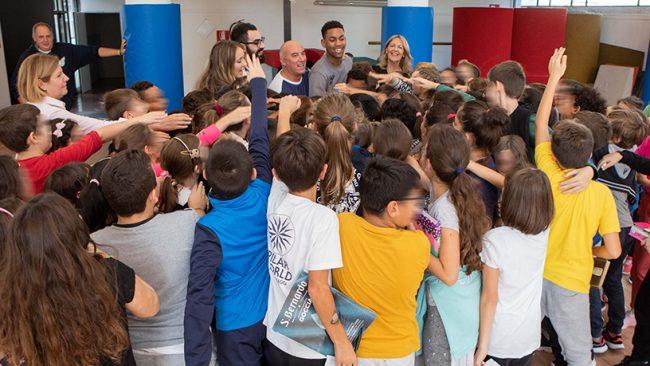La Pallacanestro Cantù entra nelle scuole