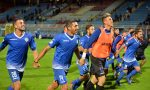 Como Calcio azzurri hanno iniziato a preparare la sfida con la Pro Vercelli