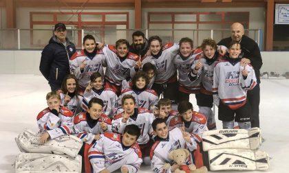 Hockey Como gli u13 lariani in vetta imbattuti nell'Interregionale