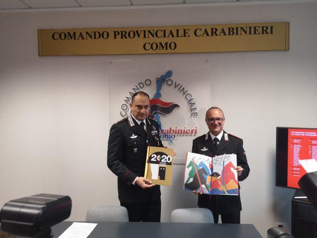 L'Arma dei Carabinieri ha presentato il calendario storico e l'agenda 2020