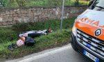 Incidente in moto ad Appiano, giovane trasportato in ospedale FOTO  e VIDEO