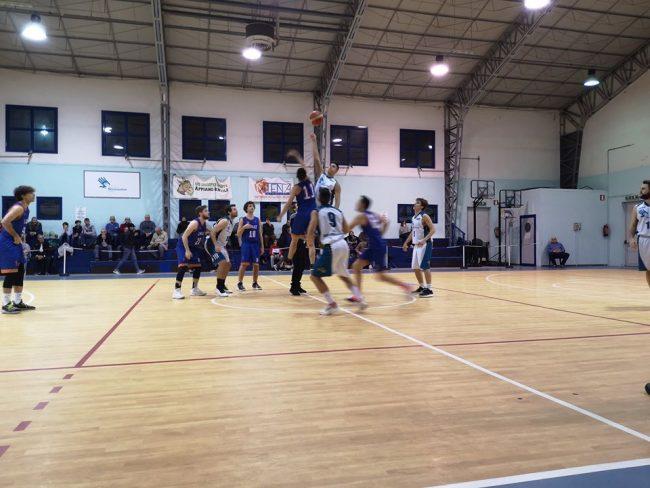 Basket serie D Appiano prima da sola
