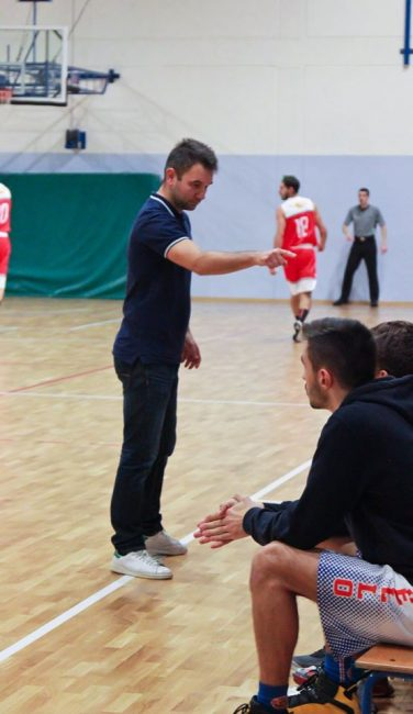 Basket C Gold Matteo Bonassi coach Rovello