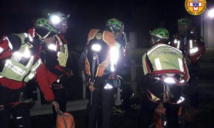 Incidente sull'Alpe Giumello: scivola per oltre cinquanta metri e muore