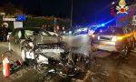 Due incidenti: feriti in autostrada a Lomazzo e ad Anzano del Parco