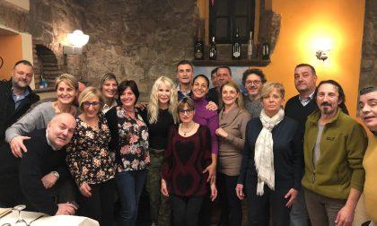 Ivana Spagna alla cena dei coscritti di Grandate