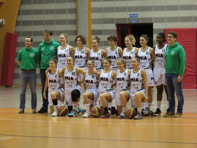 Basket femminile Mia Mariano 2019-20