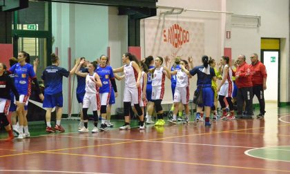 Basket femminile Mariano stoppa Vertemate e l'aggancia