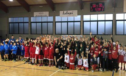 Basket giovanile ok il 1° torneo Alto Livello di minibasket