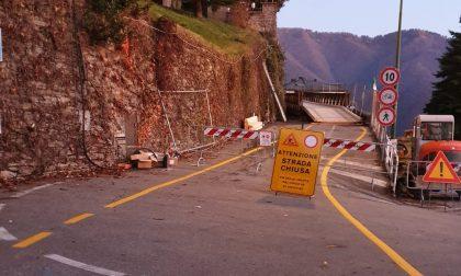 Frana di Cernobbio: collaudo ok per il ponte bailey