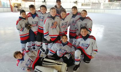 Hockey Como Under11 vincenti al Piccolo 1 Ticino