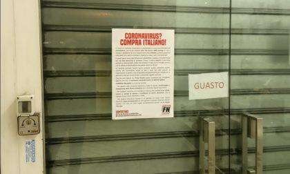 Coronavirus Forza Nuova boicotta i negozi cinesi