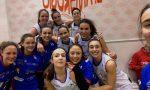 Basket femminile Colpaccio Mariano che stoppa la capolista Valmadrera