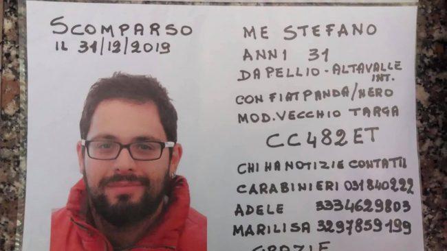 Ritrovato il 31enne scomparso da più di venti giorni