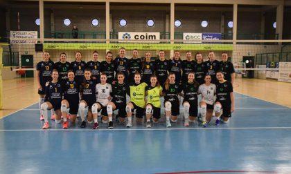 Albese Volley per la Tecnoteam utile test a Offanengo