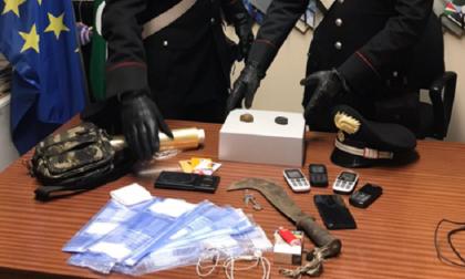 Due arresti per droga al Parco Pineta