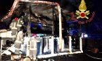 Incendio a Guanzate: mobilitati quattro mezzi dei Vigili del fuoco FOTO