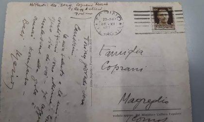 Una cartolina dal 1942 per Magreglio: si cercano i discendenti di Mario Coprani