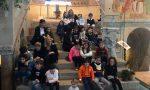 Le scuole elementari alla scoperta della Basilica a Galliano VIDEO e FOTO