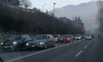Incidente in Napoleona, auto bloccate nel traffico FOTO