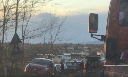 Tre persone coinvolte in un incidente sulla provinciale