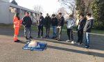 Croce Bianca Mariano presenta il progetto Cb young agli studenti del Monnet FOTO