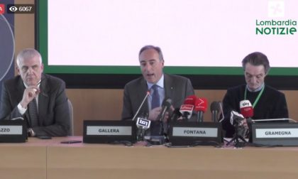 Coronavirus Lombardia: la conferenza stampa in Regione DIRETTA VIDEO