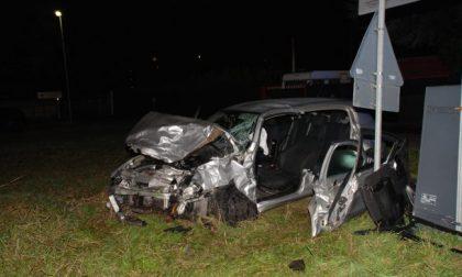 Incidente a Rovello Porro due feriti FOTO