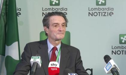 """L'annuncio di Fontana: """"La Lombardia sarà zona rossa, non ce lo meritiamo"""""""