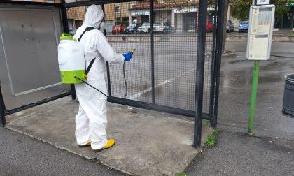 A Tavernerio strade sanificate grazie ai volontari