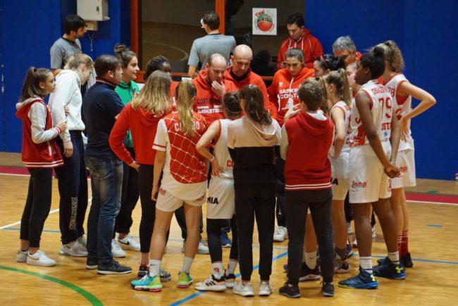 Basket femminile Costa stop totale