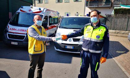 Il Lions Club di Olgiate dona 1.500 mascherine alla Croce rossa