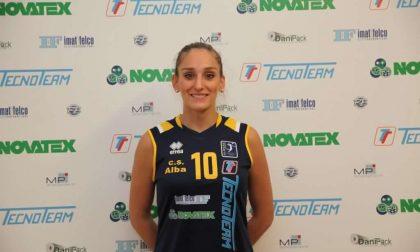 Albese Volley Carlotta Zanotto è il nuovo capitano della Tecnoteam 2021/22