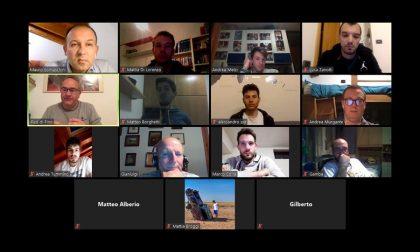 Virtus Cermenate allenatori gialloblù a lezione virtuale con coach Pino Sacripanti