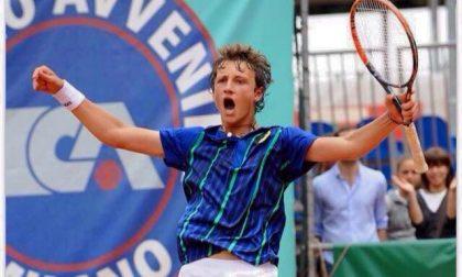 Tennis lariano Federico Arnaboldi batte Nardi e vola agli ottavi degli Assoluti