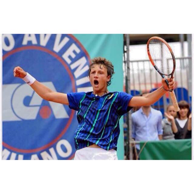 Tennis lariano Federico Arnaboldi