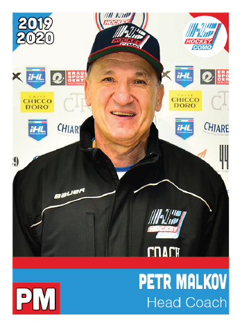 Hockey Como coach petr malkov